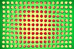 Die optische Täuschung Stockbild