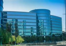 Die Oracle-Hauptsitze gelegen in Redwood City stockbilder