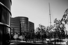Die Oracle-Hauptsitze gelegen in Redwood City stockfotos