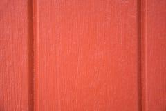 Die orange hölzerne Wand Lizenzfreies Stockfoto