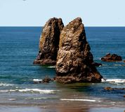 Die Oregon-Nadeln Stockfotografie