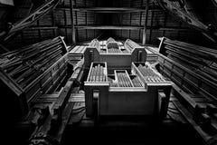 Die Orgelpfeifen Lizenzfreie Stockfotografie