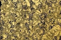 Die orientalischen Musiker Lizenzfreie Stockbilder