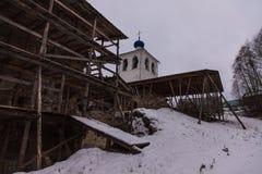 Die orthodoxe Kirche Lizenzfreies Stockfoto