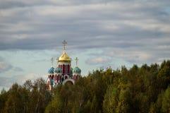 Die orthodoxe Kirche in der Kaluga-Region von Russland Stockfotografie