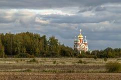 Die orthodoxe Kirche in der Kaluga-Region von Russland Lizenzfreie Stockfotos