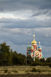Die orthodoxe Kirche in der Kaluga-Region von Russland Lizenzfreie Stockfotografie