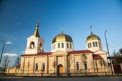 Die orthodoxe Kirche von Michael der Erzengel Grosny, Tschetschenien Stockfotos