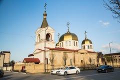 Die orthodoxe Kirche von Michael der Erzengel Grosny, Tschetschenien Stockfoto