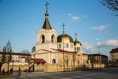 Die orthodoxe Kirche von Michael der Erzengel Grosny, Tschetschenien Stockbild