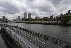 Die Osaka-Stadt Stockfotografie