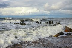 Die Ostsee im Herbst Lizenzfreie Stockbilder