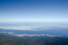 Die Ozeanküste Stockbild