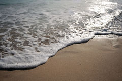 Die Ozeanwelle Lizenzfreie Stockfotos