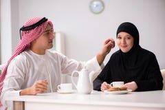 Die Paare des arabischen Mannes und der Frau Lizenzfreie Stockbilder