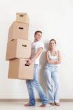Die Paare verschoben Lizenzfreie Stockbilder