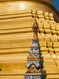 Die Pagode Shwe Sayan in Dala, Myanmar Lizenzfreie Stockfotografie