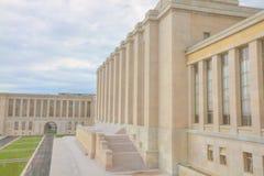 Die Palais DES-Nationen Lizenzfreies Stockbild
