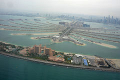 Die Palme Dubai und Atlantis-Hotel Lizenzfreies Stockfoto