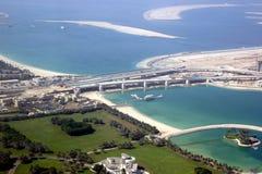 Die Palme Jumeirah in Dubai lizenzfreie stockfotos