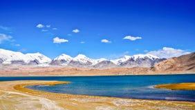 Die Pamir-Hochebene in Xinjiang, China Lizenzfreie Stockfotografie