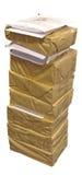 Die Papierpakete Lizenzfreies Stockfoto