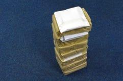 Die Papierpakete Stockbild