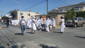 Die Parade von Mexiko stockfotos