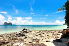 Die Paradiesinsel in Trang-Provinz, Thailand Stockbilder