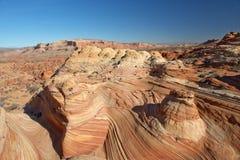 Die Paria-Schlucht, Zinnoberrot-Klippen, Arizona Stockbild