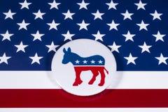 Die Partei US Demokrat lizenzfreie stockfotos