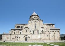 Die patriarchalische Kathedrale der Kathedrale von aller Georgia Svetitskhovli Stockfotos