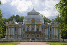 Die Pavillon Einsiedlerei in Catherine Park von Tsarskoye Selo Stockfoto