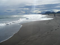 Die Pazifikküste Stockfoto