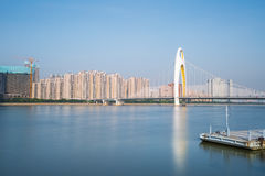 Die Pearl River Landschaft Lizenzfreie Stockfotografie