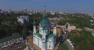 Die Perle der christlichen Architektur stock video footage
