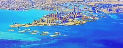Die Perle - Katar stockfotos