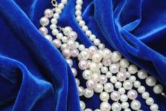 Die Perlenhalskette. Lizenzfreie Stockfotografie