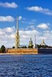 Die peter-und Paul-Festung, St Petersburg Lizenzfreie Stockfotos