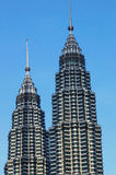 Die petronas-Twin Tower Lizenzfreie Stockbilder