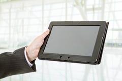 Die Pfeile sind auf unterschiedlicher Schicht, also können Sie sie löschen Sie wenn nur Notwendigkeit die Tablette Lizenzfreie Stockbilder
