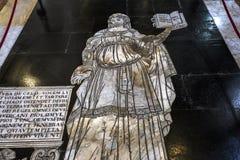 Die Pflasterung von Siena-Kathedrale, Siena, Italien Lizenzfreies Stockfoto