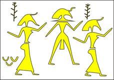 Die Pharaos Lizenzfreie Abbildung