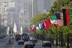 Die Philadelphia-Skyline Lizenzfreies Stockfoto