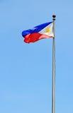 Die philippinische Markierungsfahne Stockfoto