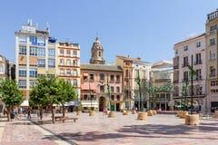 Die Piazza de la Constitucion Stockbilder