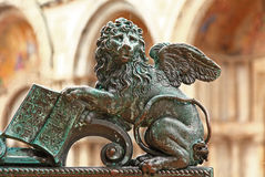 Die Piazza Venedig San-Marco stockbild