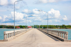Die Pierbrücke stockbilder