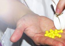 Die Pillen Lizenzfreie Stockbilder