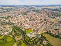 Die Pilsen-Stadt Lizenzfreies Stockfoto